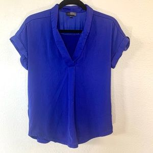 The Limited Blue Blouse